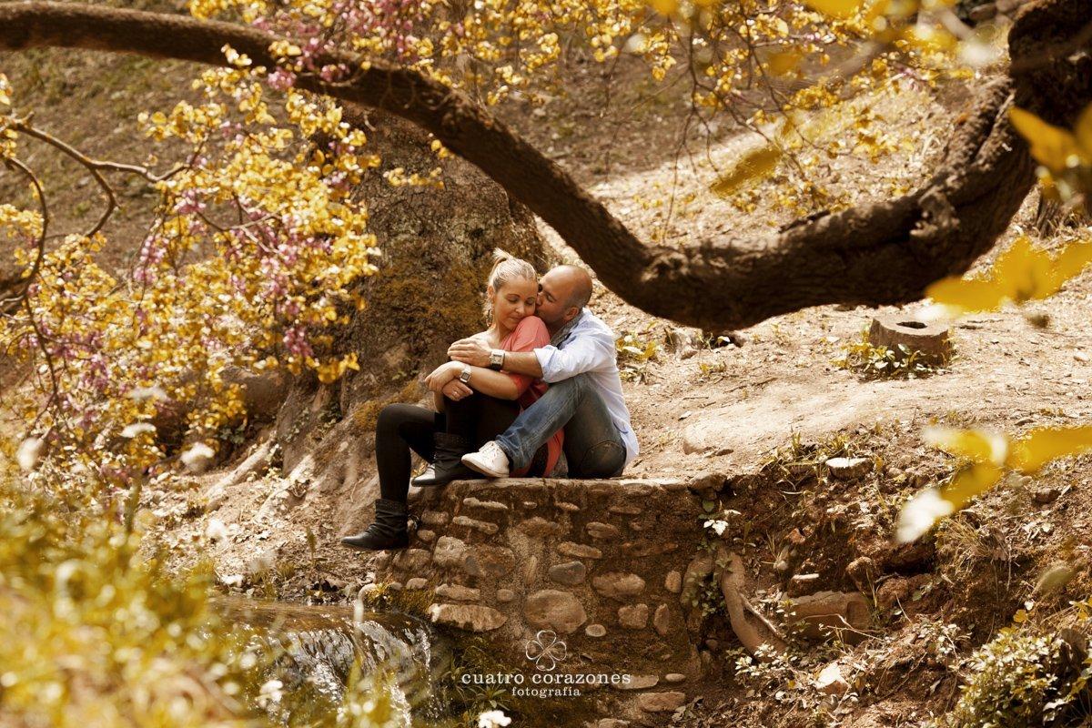 Preboda en Granada en el Albaicín - Cuatro Corazones Fotografía por Juanlu Corrales