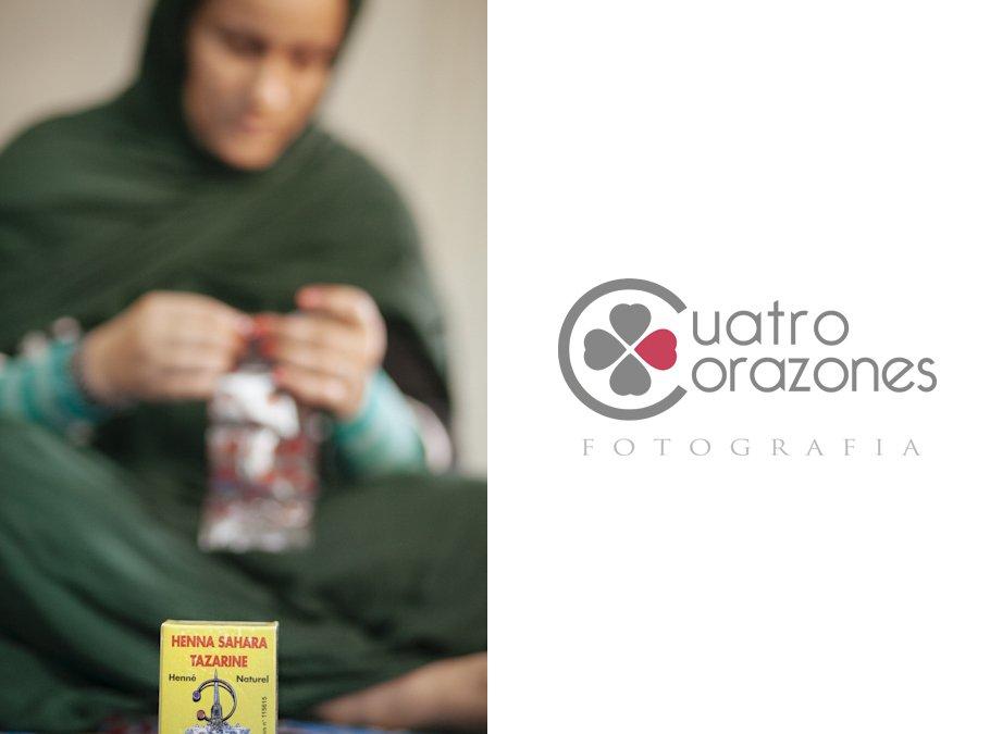 Boda saharaui en el campamento 27 de Febrero en Tinduf - Cuatro Corazones Fotografía por Juanlu Corrales