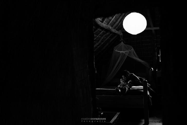 fotografia familiar en Caños de Meca en Casas Karen - Cuatro Corazones Fotografía por Juanlu Corrales