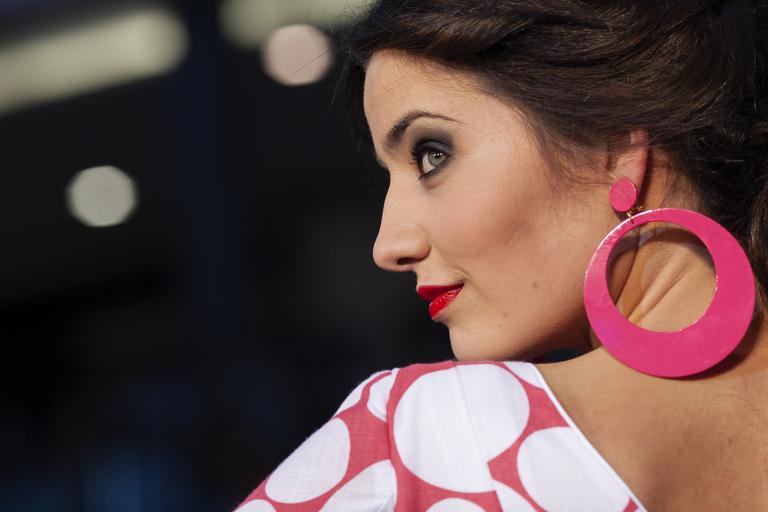 Moda flamenca de Marbella - Cuatro Corazones Fotografía por Juanlu Corrales