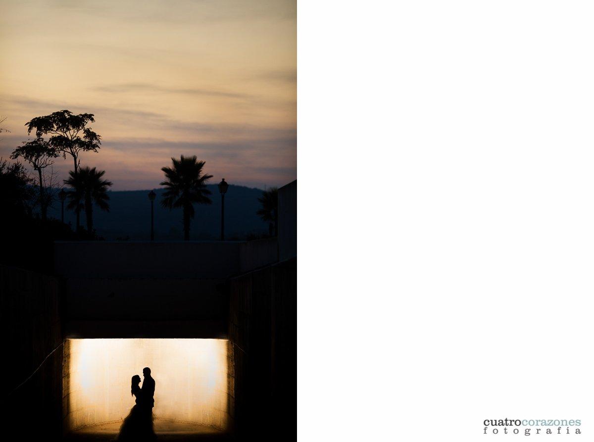Fotos de postboda en Alcaidesa Golf de San Roque - Cuatro Corazones Fotografía por Juanlu Corrales.