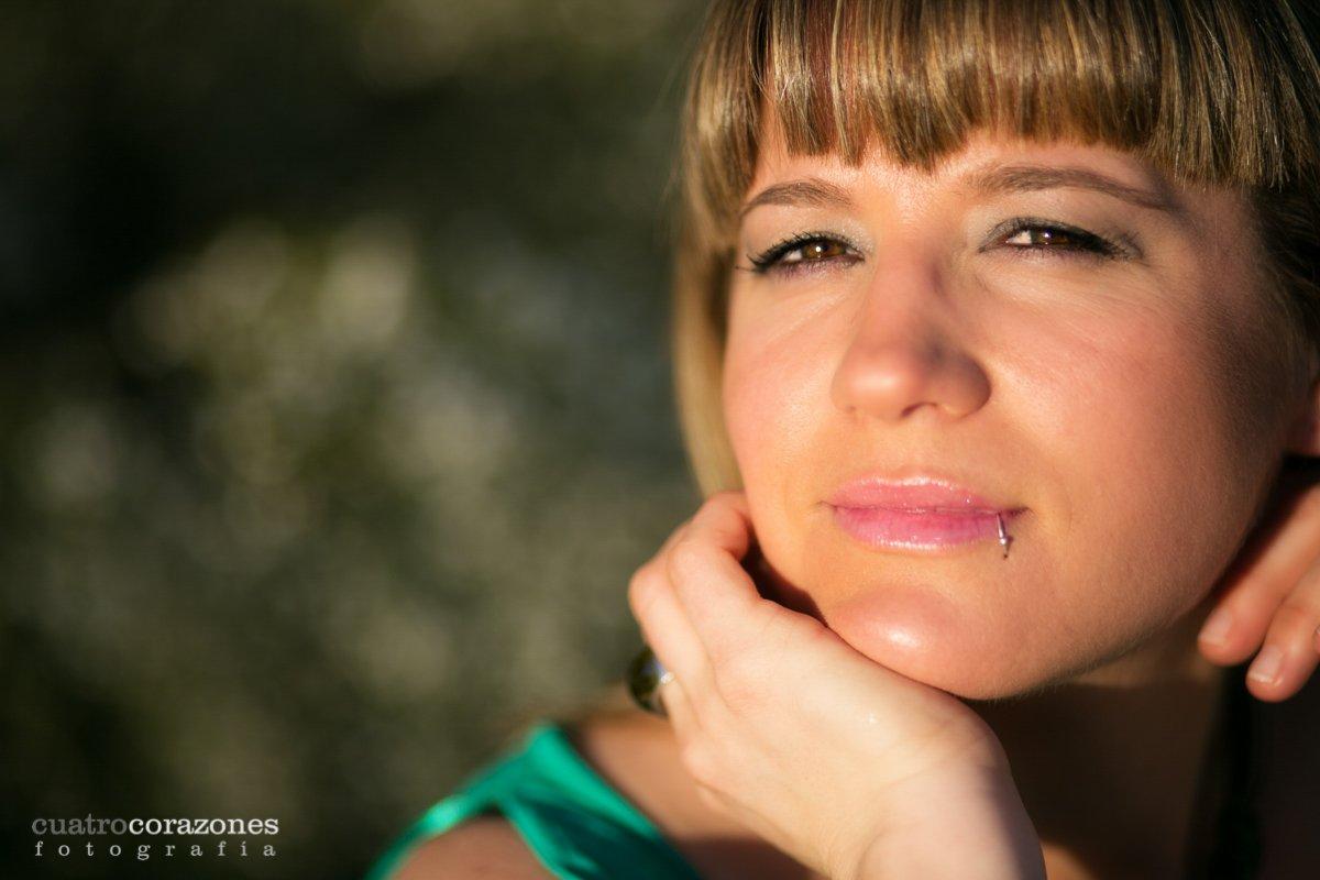 Sesión fotográfica en las playas de Tarifa con Ana - Cuatro Corazones Fotografía por Juanlu Corrales
