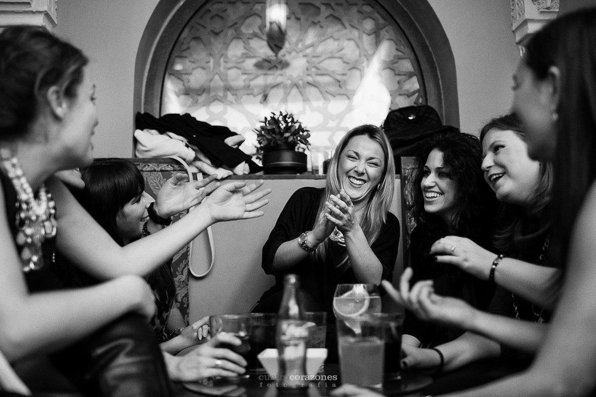 despedida de soltera en Badajoz con Begoña - Cuatro Corazones Fotografía por Juanlu Corrales