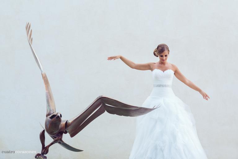 fotos de post boda en Cádiz en el Parque de los Toruños en el Puerto de Santa María con Pablo y Esther - Cuatro Corazones Fotografía por Juanlu Corrales