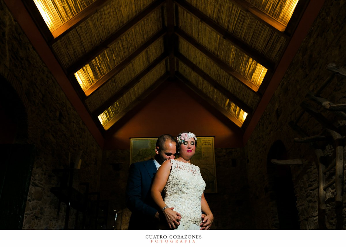 boda en el campo en la Hacienda Almoguera de Los Barrios con Dani y Ana - Cuatro Corazones Fotografía por Juanlu Corrales