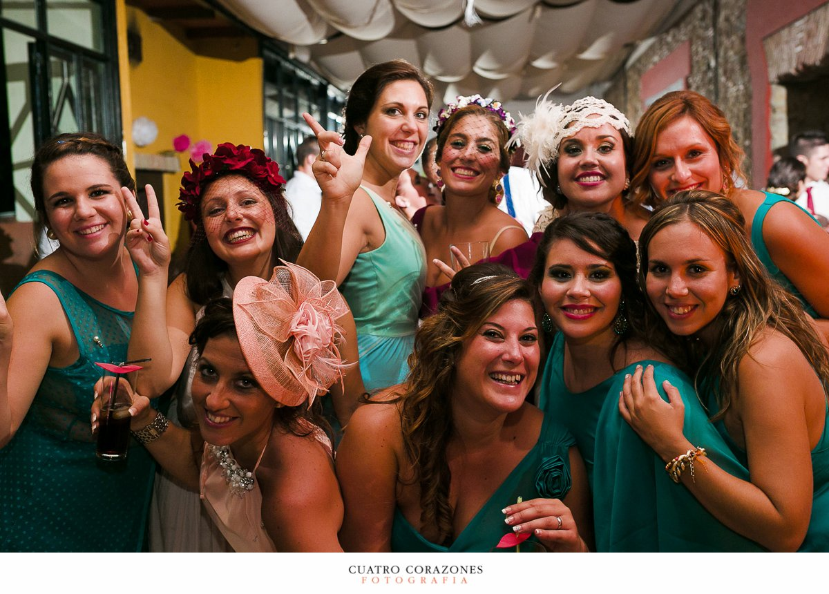 boda en campo en la Hacienda Almoguera de Los Barrios con Dani y Ana - Cuatro Corazones Fotografía por Juanlu Corrales