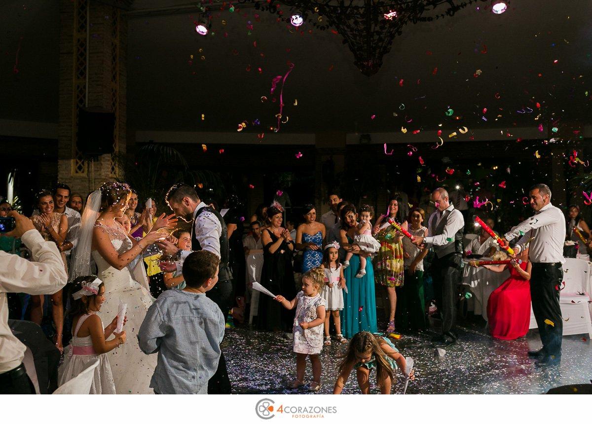 boda en San Roque en El Coto con Pedro y Mari Carmen. Cuatro Corazones Fotografía por Juanlu Corrales