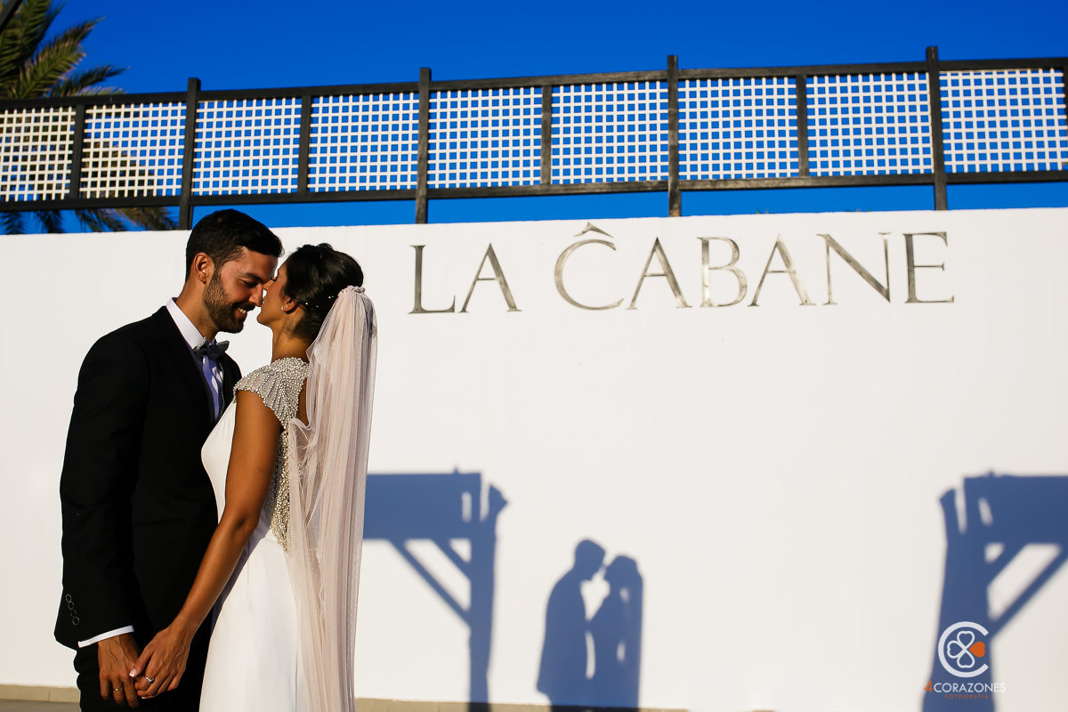 boda en la cabane marbella