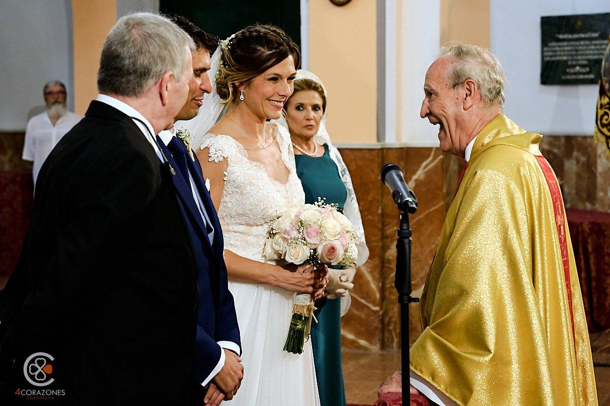 Boda en Salesianos La Linea con Alvaro y Zaida