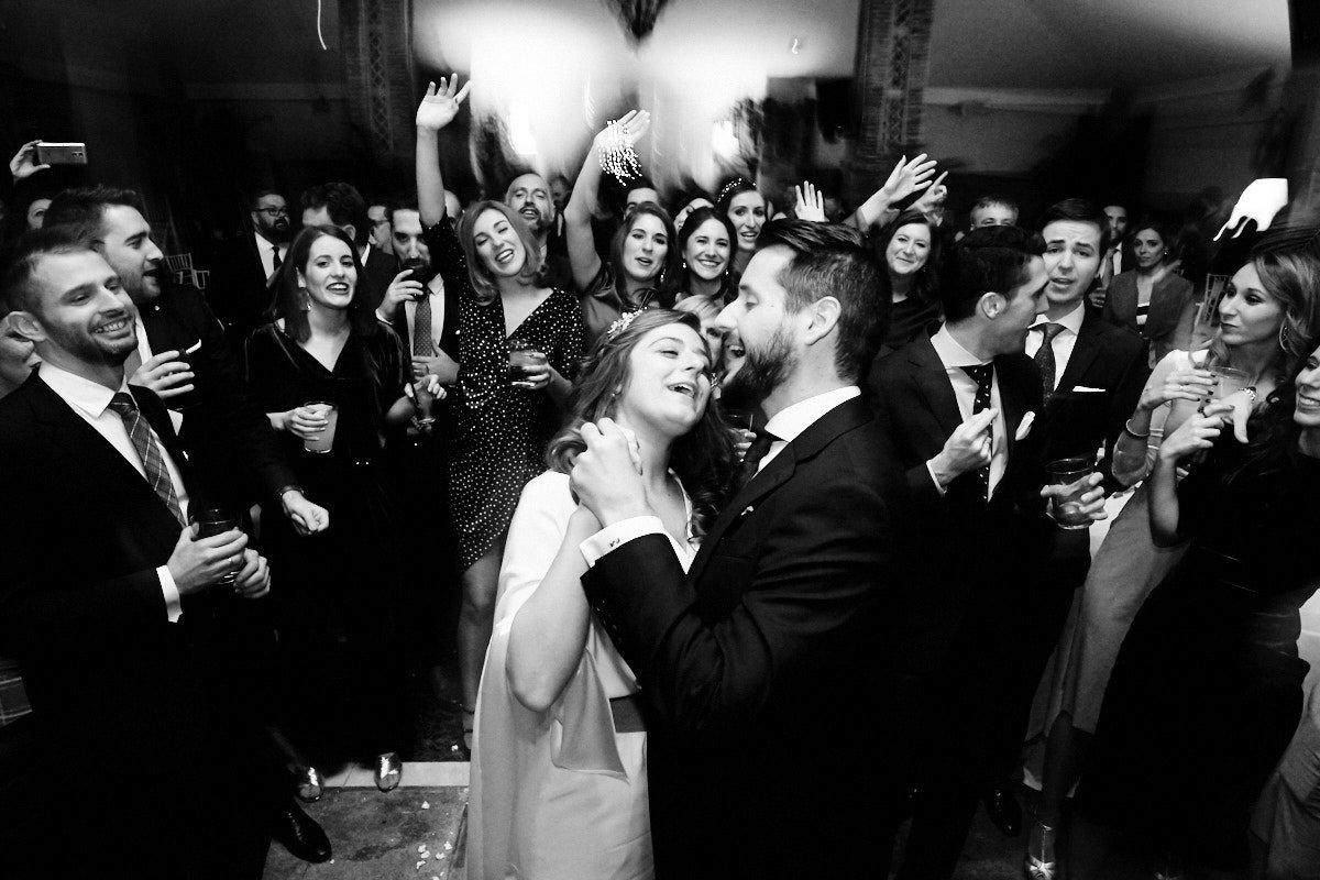 boda en navidad en el coto