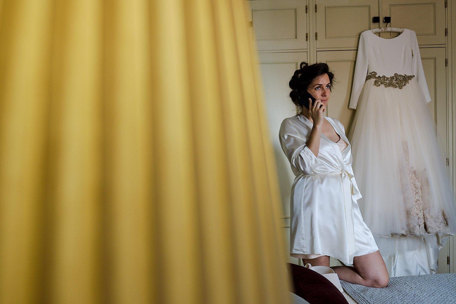 fotógrafo de boda en la linea
