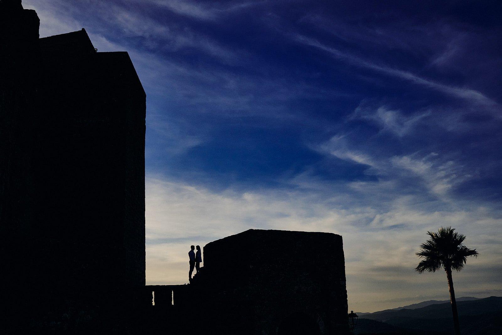 fotos preboda en castillo