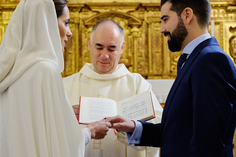 boda en hotel convento