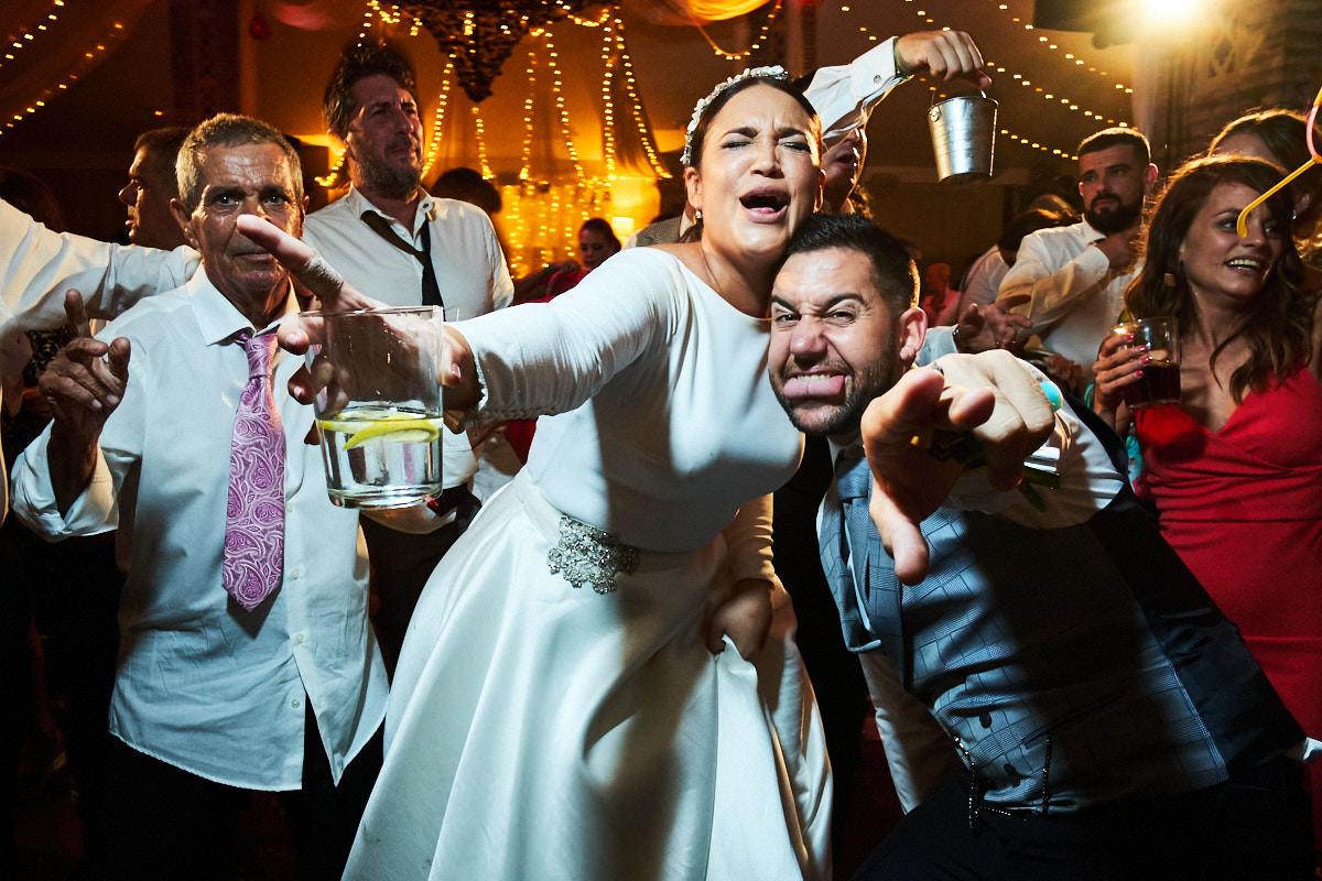 La increíble boda en La Linea de Javi y Alba.