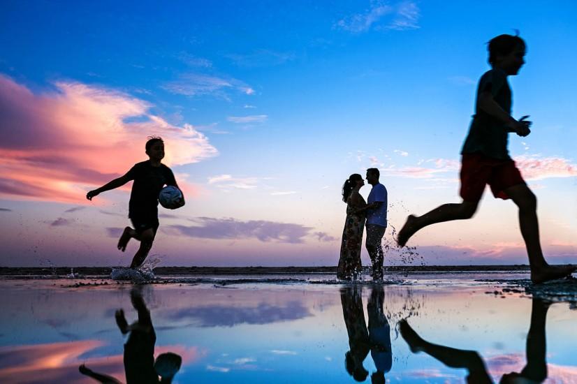 Preboda en la playa de Tarifa