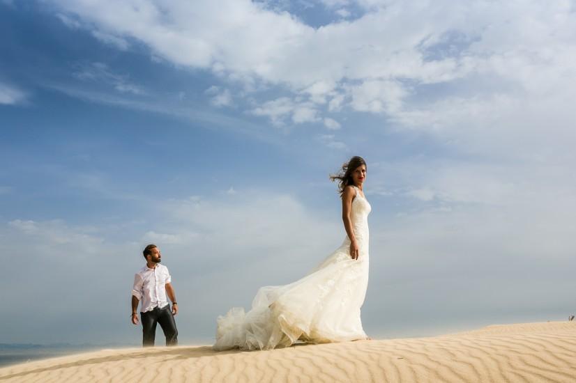 Postboda en la playa Tarifa