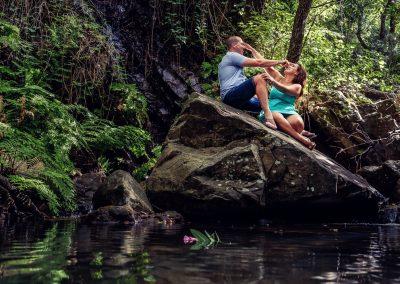 preboda en el rio