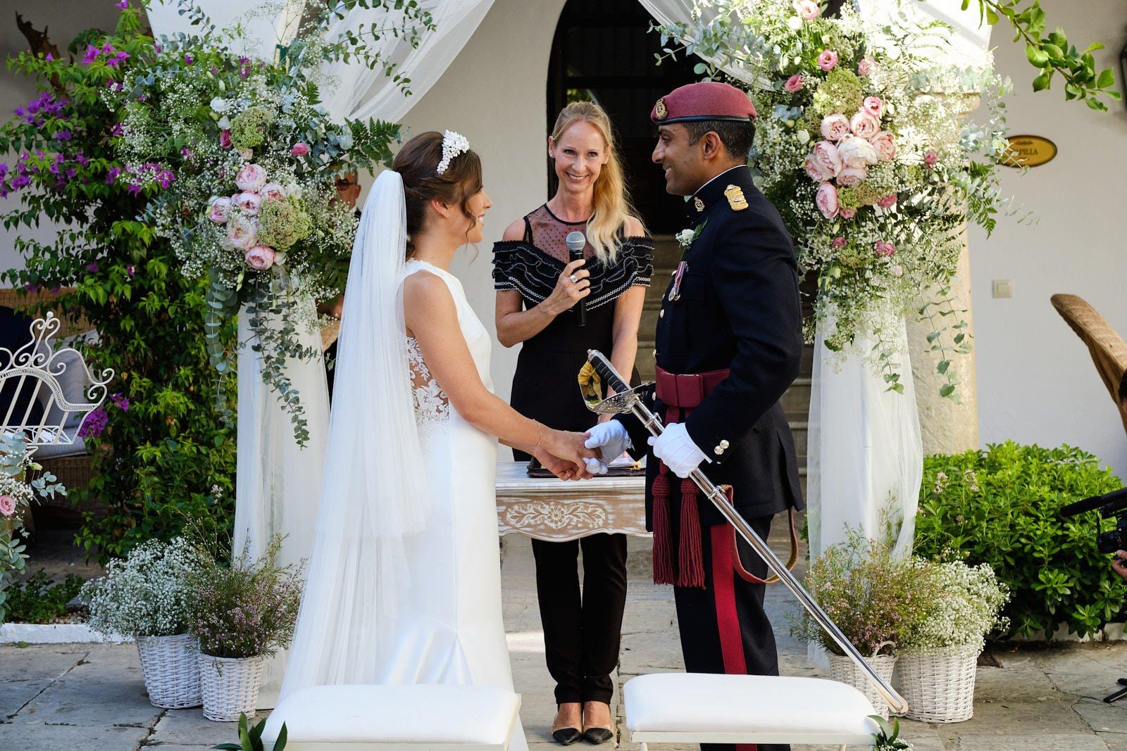 boda civil en Algeciras