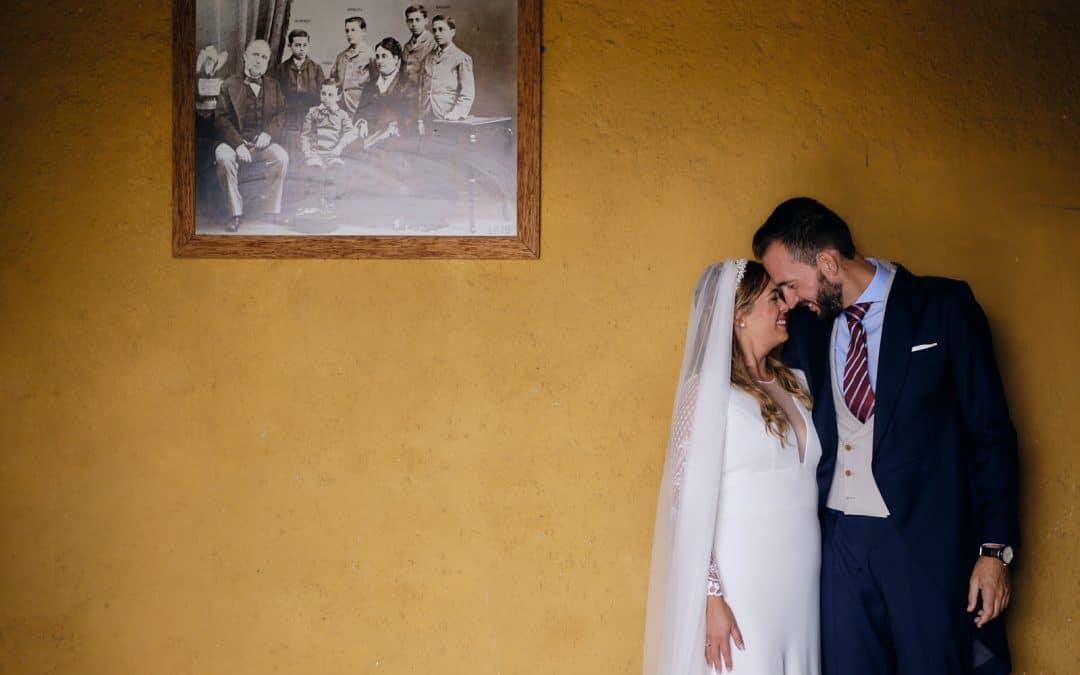 La boda en la Hacienda Almoguera de Irene y Antonio