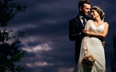 La emotiva boda en Los Barrios de Mónica y Rafa