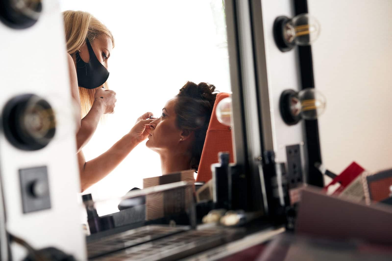 maquillaje de novia en pandemia