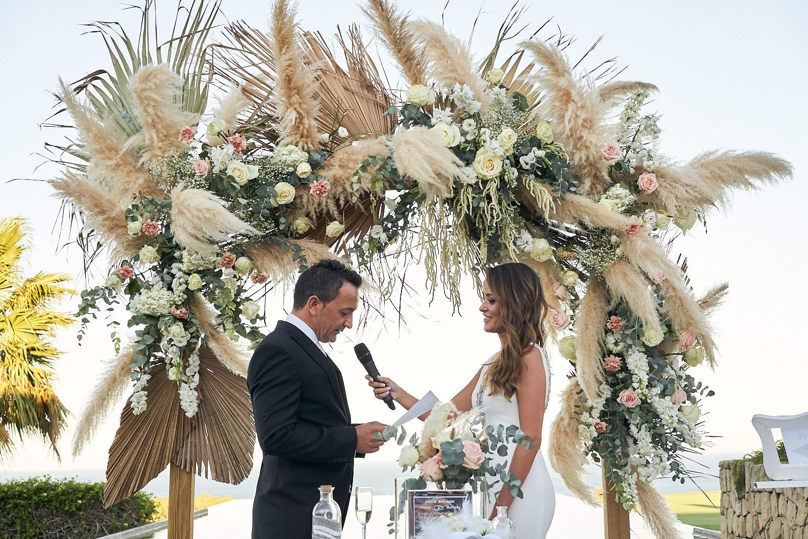 espectacular boda en alcaidesa golf san roque