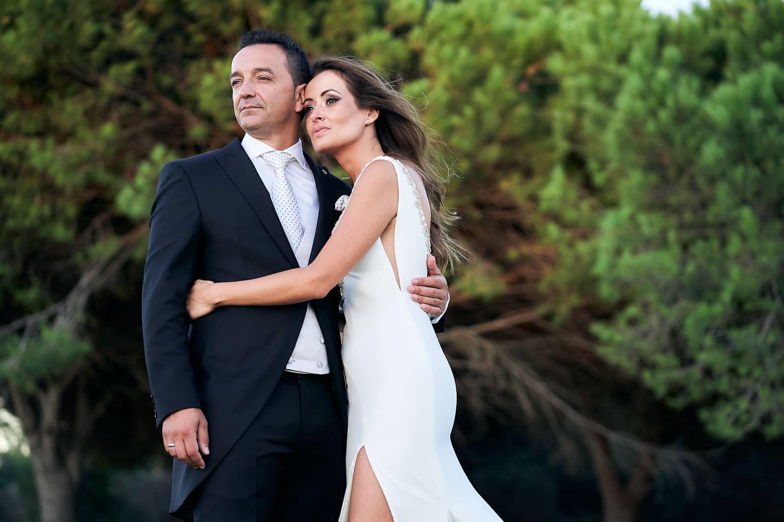 espectacular boda en san roque