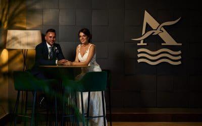Una boda íntima en San Roque